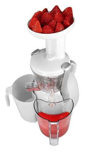 Big Boss Slow Juicer White 9192 : Nutritionally Beneficial Slow Juicer, White
