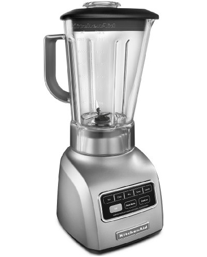 Kitchenaid 5 Speed Blender kitchenaid 5-speed blender ksb650sm 650 series .9hp motor stir