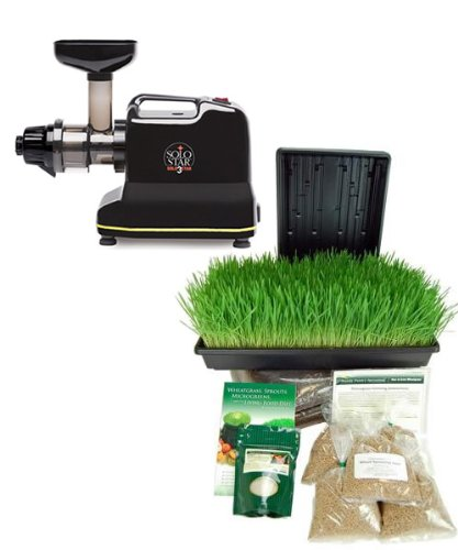 Wheatgrass Juicer Electric ~ Solostar c electric multipurpose juicer by tribest