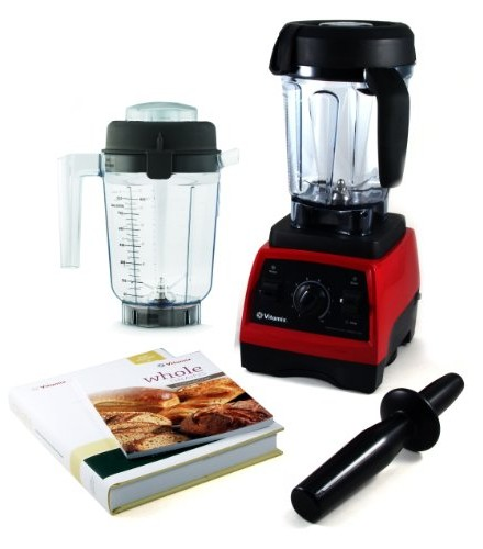 Vitamix-CIA-Professional-Series-300-Ruby-Red-Blender-With-Wet-Container-Dry-Grains-Container-and-2-Cookbooks-0