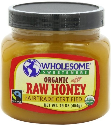 Wholesome-Sweeteners-Organic-Fair-Trade-Raw-Honey-16-Ounce-Jars-Pack-of-3-0