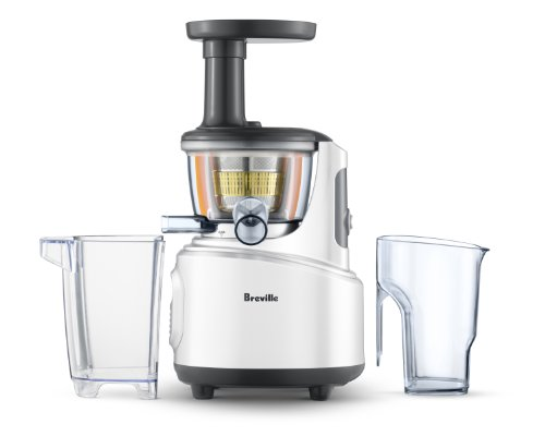 Masticating Juicer Slow Juicer : Breville BJS600XL Fountain Crush Masticating Slow Juicer Healthy Living Hub