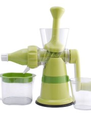 Chefs-Star®-Manual-Hand-Crank-Juicer-Single-Auger-Juice-Press-Ideal-for-Fruit-Vegetables-Wheat-Grass-with-Suction-Base-0