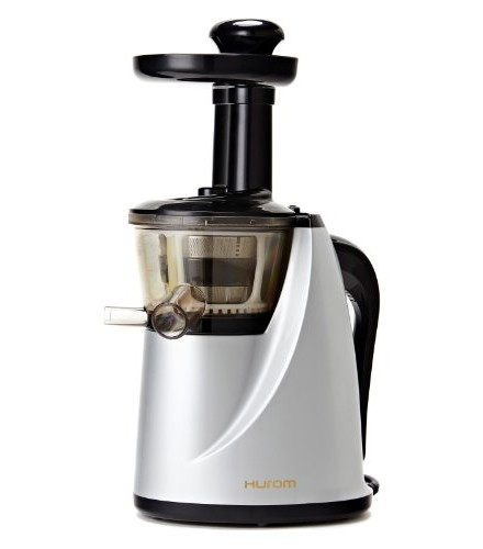 Slow Cold Press Living Juicer Extractor : Hurom HU100S Slow Juicer, Silver Healthy Living Hub