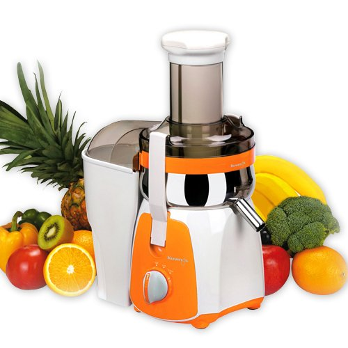 Best Masticating Juicer For Carrots : Kuvings NJ-9310U Centrifugal Juicer, Orange Healthy Living Hub
