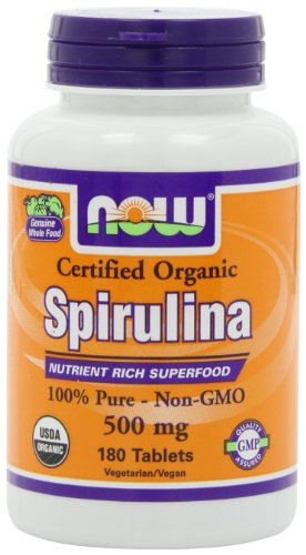 NOW-Foods-Organic-Spirulina-500mg-Tablets-180-Tablets-0