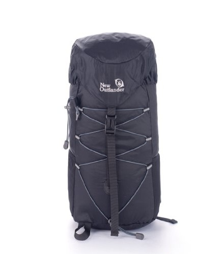 New-Outlander-Packable-Water-Resistant-Handy-Lightweight-Travel-Backpack-Hiking-Bag-30L-Black-0