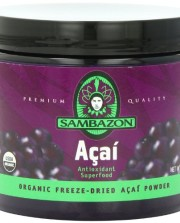 SAMBAZON-Organic-Freeze-Dried-Acai-Powder-Antioxidant-Superfood-90-Gram-Jar-0